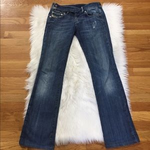 854ae556b63db Diesel Cherone Made In Italy Flare Jeans